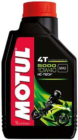 Óleo lubrificante Motul 5000 10W40 - 1 litro