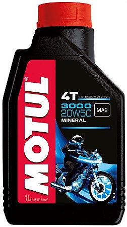 Óleo lubrificante Motul 3000 20W50 - 1 litro