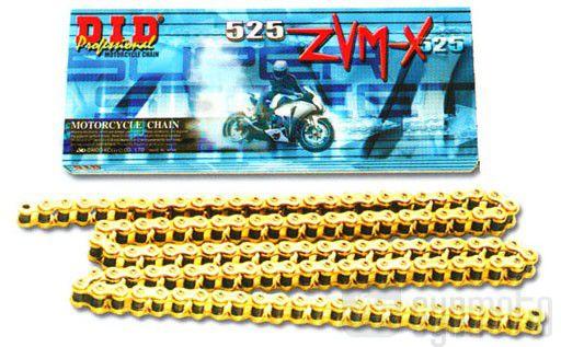 Corrente Japonesa DID ZVM-X GOLD 530 x 120