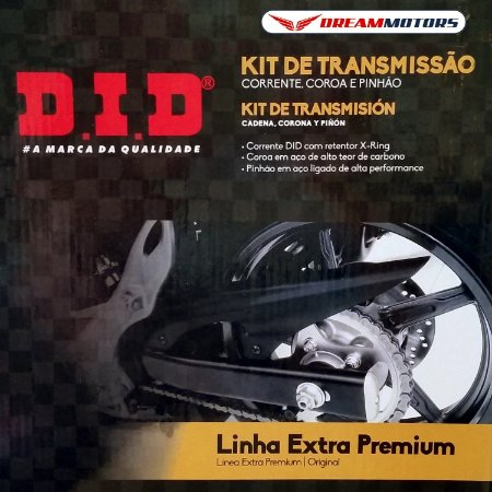 Kit Relação DID Yamaha R1 2009 a 20014