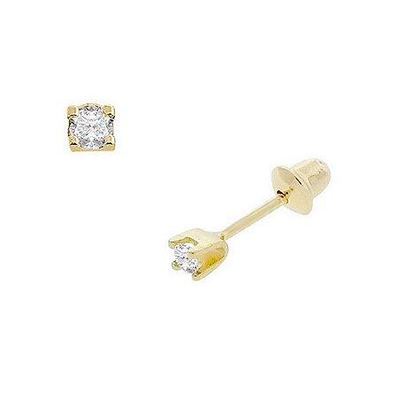 Brinco Cartier de Ouro 18K com Diamantes 4.50 pontos