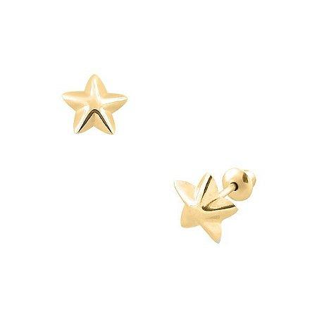 Brinco Estrela de Ouro 18K