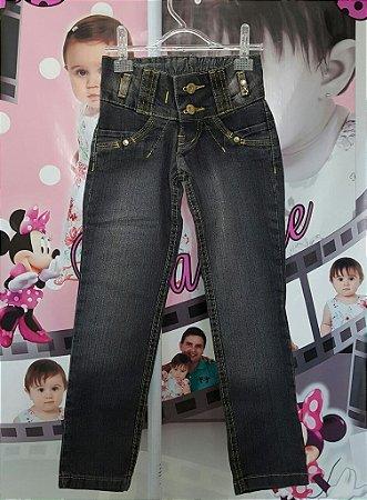 Calça Jeans Infantil  - tam 4 ao 8