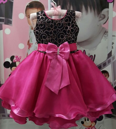 Vestido Infantil/Juvenil Barbie - tam 4 ao 12