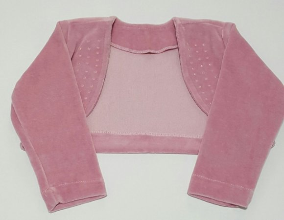 Bolero Infantil Plush -  tam 1 ao 3