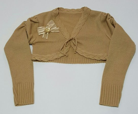 Bolero Infantil de Lã - tam 6