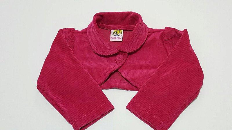 Bolero Infantil Luxo Plush - tam 2 e 4