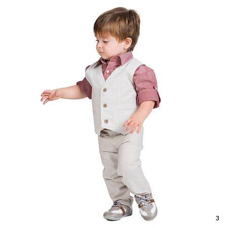 Conjunto Infantil Menino Tam 1 ao 3