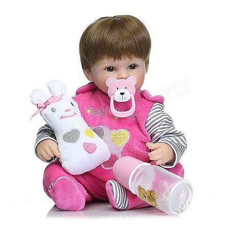 Boneca Bebe Reborn Realista