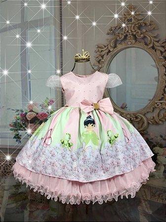 Vestido a Princesa e o Sapo 1666