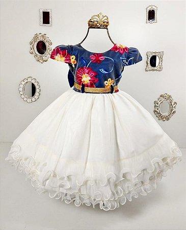 Vestido Jardim das Princesas