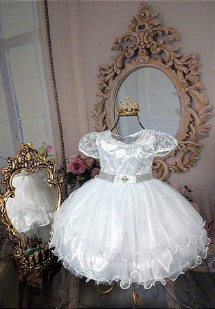 Vestido Branco Marie 1885