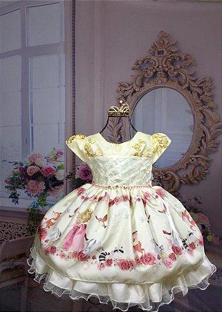 Vestido Da Alice no País das Maravilhas 1999