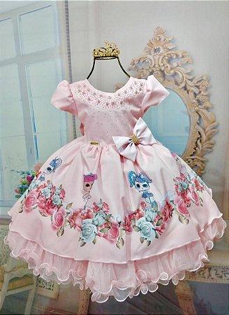 Vestido das bonequinhas Lol 1780