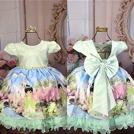 Vestido Princesa e o Sapo 1767