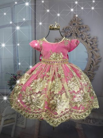 Vestido Realeza Pink 1922