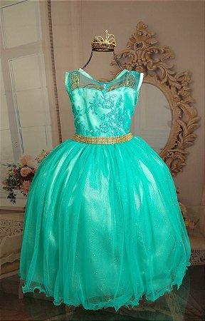Vestido Verde ariel 2109