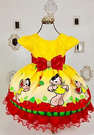 Vestido Infantil Magali de luxo 002