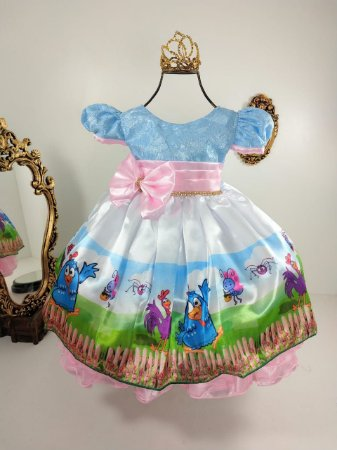 Vestido Galinha Pintadinha 325