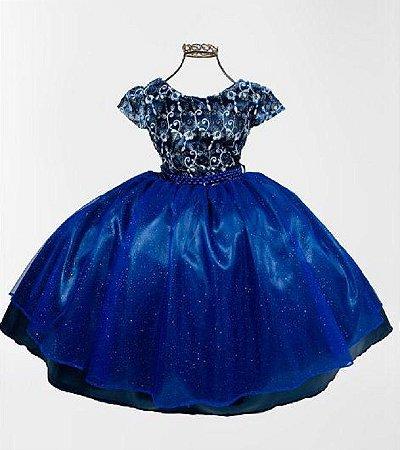 Vestido  Azul marinho Formatura