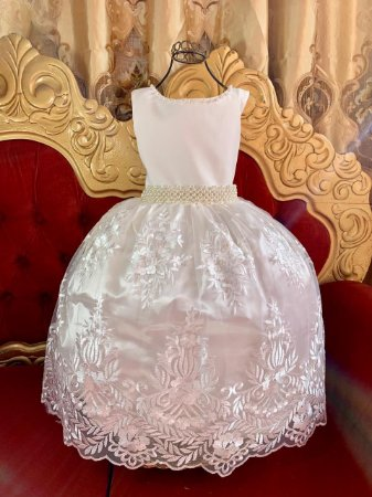 Vestido Realeza Off White 2204