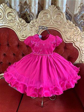 Vestido Pink infantil 2576