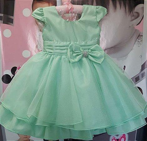 Vestido Infantil Sininho/Ariel - Tam 1 ao 3