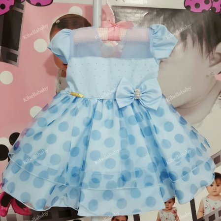 Vestido Infantil Frozen - tam P ao G