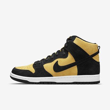 Tênis Nike SB Dunk High Reverse Goldenrod