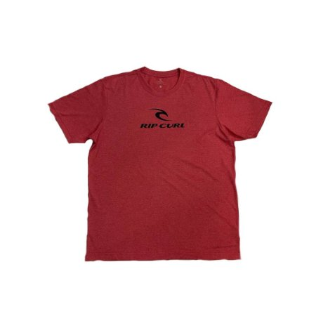 Camiseta Rip Curl Icon Tee Red Mar
