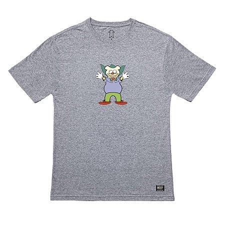 Camiseta Grizzly Clownin - Heather Grey