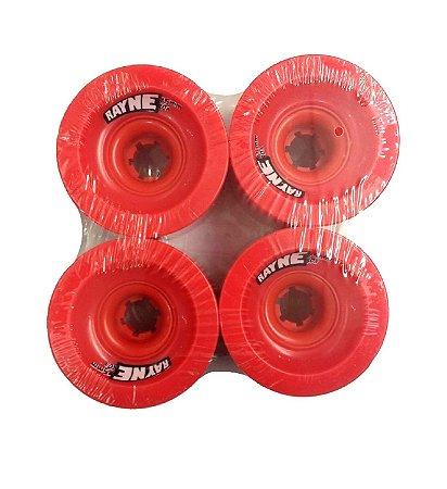 Roda Longboard Rayne Lust 75mm 80a Vermelha