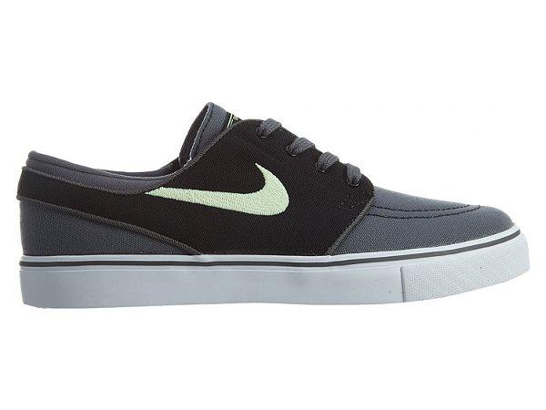 5293f3a24147a Tênis Nike SB Zoom Stefan Janoski Canvas Cinza   Verde - Pégasos ...