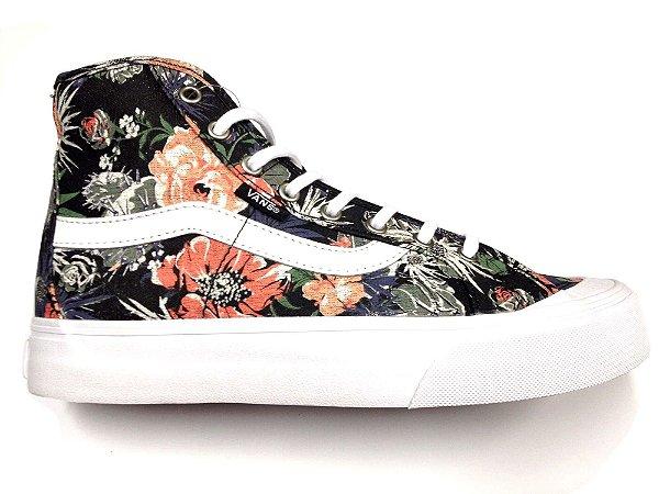 Tênis Vans Black Ball Hi Desert Floral - Pégasos Skate Shop - 30 ... 2bbc2f373a910