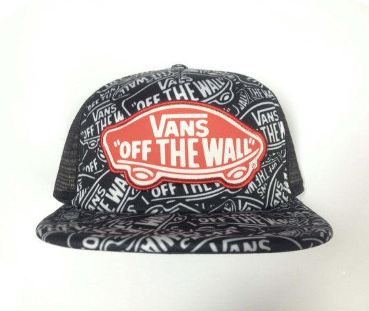 Boné Vans Beach Girl Trucker Hat Black