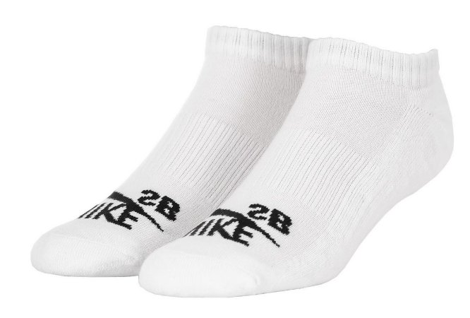 Meia Nike Sb No Show Rock 3PK Branca
