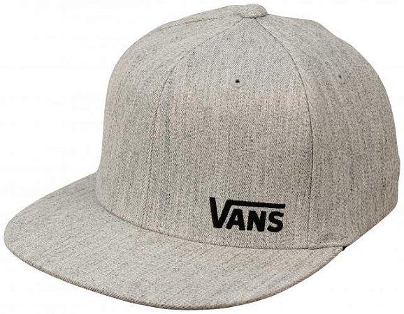 Boné Vans Splitz Snapback Cinza