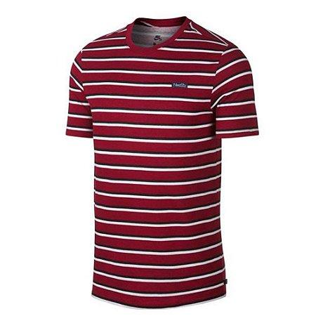 Camiseta Nike Sb Stripe red