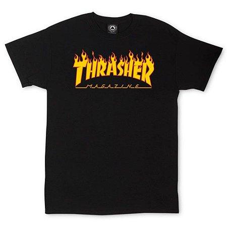 Camiseta Thrasher Flame Logo