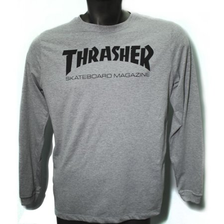 Camiseta ML Thrasher Logo (mescla)