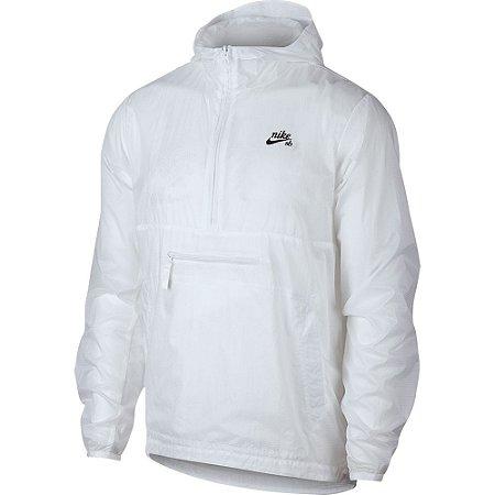 Jaqueta M Nike SB Anorak White