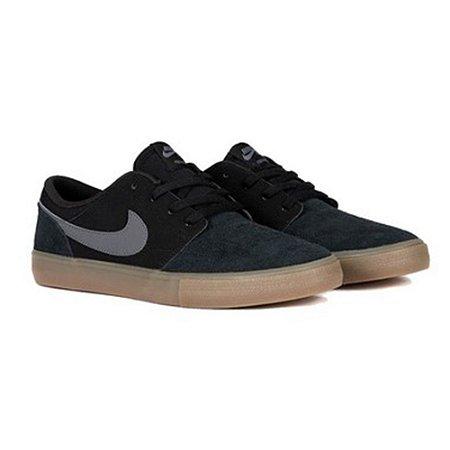 Tênis Nike SB Portmore II Solar Black/Gum