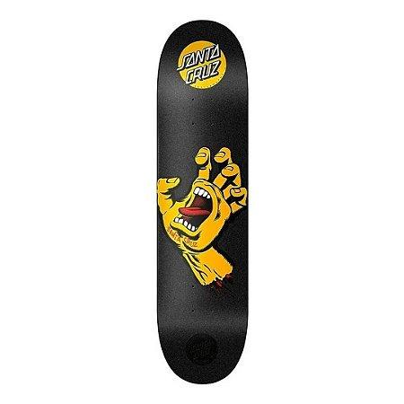 Shape Santa Cruz Screaming Hand Preto/Amarelo
