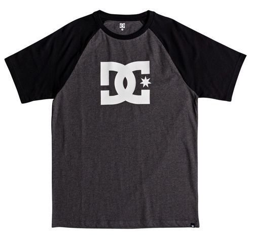 Camiseta DC Shoes Esp Raglan Star