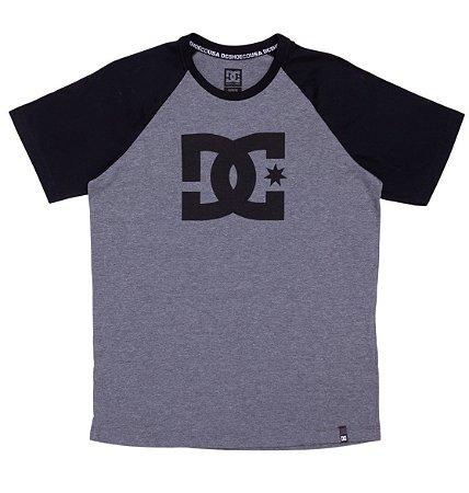 Camiseta DC Shoes Esp Juvenil Raglan Star