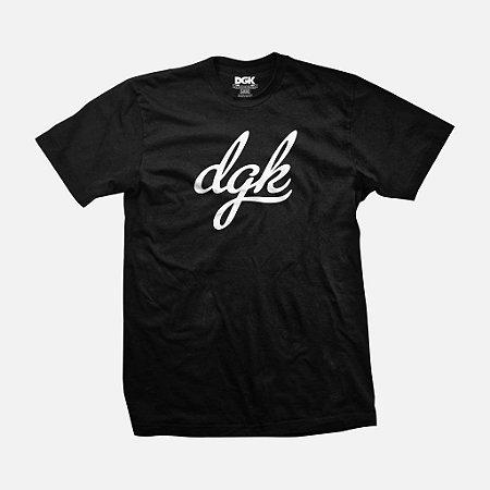 Camiseta DGK Script Black