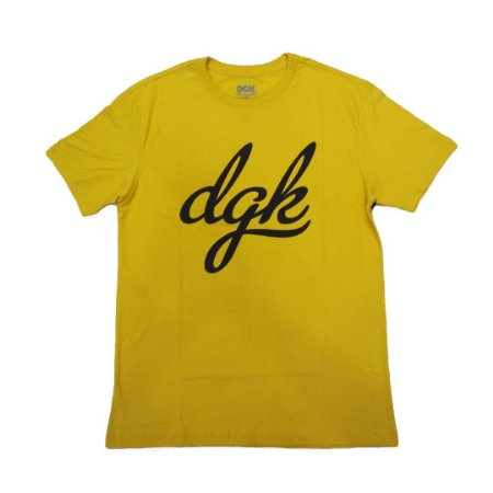 Camiseta DGK Script Gold