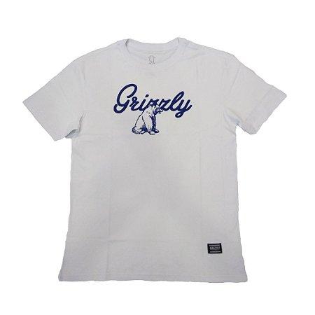 Camiseta Grizzly Ridge Youth White