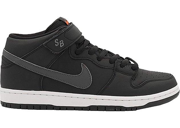 Tênis Nike SB Dunk Mid Orange Label Dark/Grey
