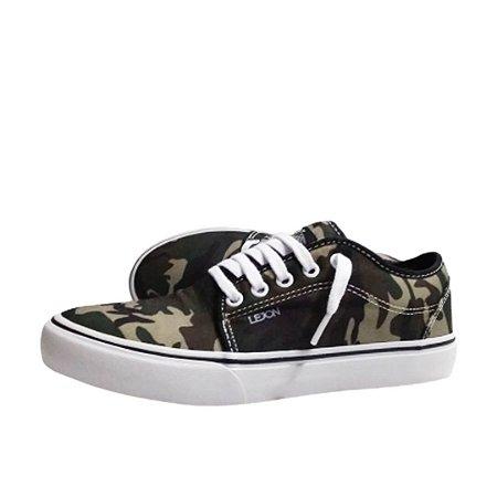 Tênis Lejon Footwear Frot Camuflado